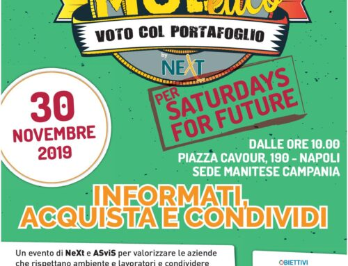 Paese Sostenibile al Saturday For Future Napoli