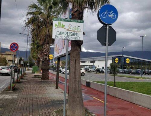 Installate le tabelle stradali a Camposano